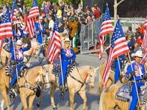 Long Beach Mounted Police Stock Photos