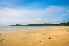 Long Beach near Tofino on Vancouver Island, British Columbia, Canada Royalty Free Stock Photos