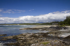 Long Beach. Pacific Rim National Park, Vancouver Island Stock Photos