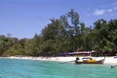 Long beach Phi Phi island Thailand Stock Image