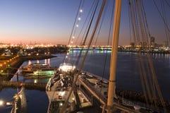 Long Beach Skyline Stock Photography
