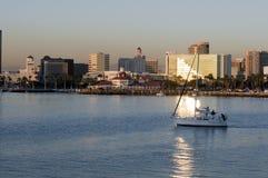 Long Beach Skyline Stock Photos