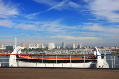 Long Beach Skyline, California Royalty Free Stock Images