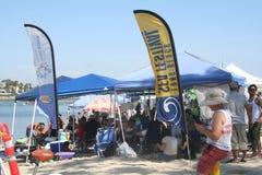 Long Beach smoka łodzi festiwal Fotografia Stock
