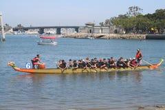 Long Beach smoka łodzi festiwal Obrazy Stock