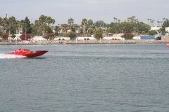 Long Beach Speed Boat Race Royalty Free Stock Photo