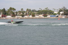 Long Beach Speed Boat Race Royalty Free Stock Photos