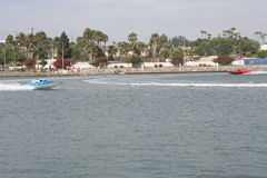 Long Beach Speed Boat Race Stock Photography