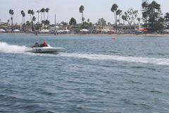 Long Beach Speed Boat Race Stock Photos