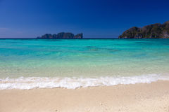 Long Beach in Thailand Royalty Free Stock Photos