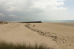 The long beach Stock Photo