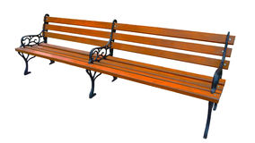 Long bench Stock Photo