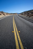 Long Bend in Wilderness Road Stock Photo