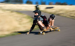 Long Boarding Stock Images