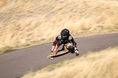 Long Boarding Stock Photo