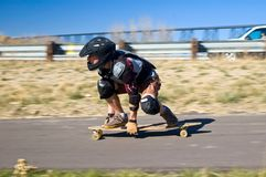 Long Boarding Royalty Free Stock Photos