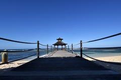 Long boardwalk Royalty Free Stock Photo