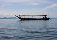 Long Boat Royalty Free Stock Photography