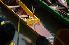 Long Boat Competition Stock Image