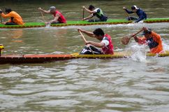 Long Boat Competition Royalty Free Stock Photo
