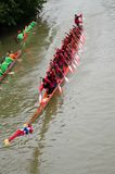 Long Boat Competition Stock Photography