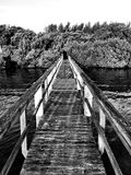 Long boat deck Royalty Free Stock Photos