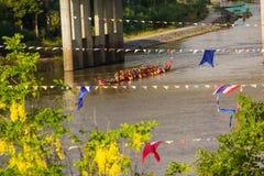Long boat racing Stock Photos