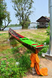 Long boat for Racing at Surin Thailand Stock Photography