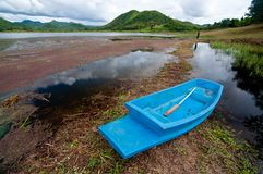 Long boat in Thailand Stock Image