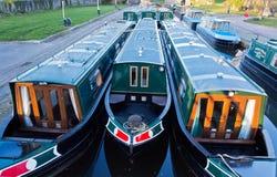 Long boats Stock Photo