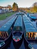 Long boats Royalty Free Stock Photography