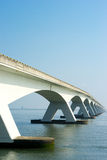 Long Bridge. A Bridge crossing a wide river Stock Photography