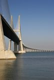 Long Bridge 6. View of one of Lisbon's bridges Royalty Free Stock Photography