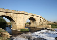 Long Bridge Of Edirne Royalty Free Stock Photos