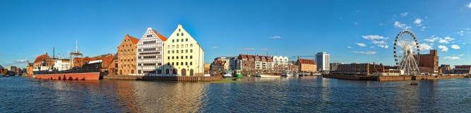 Long Bridge embankment in Gdansk Royalty Free Stock Image