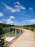Long Bridge In Roatan Stock Image
