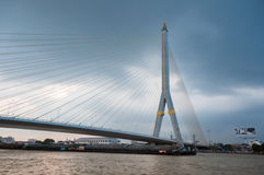 Long bridge Royalty Free Stock Image