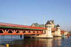 Long Bridge in Szczecin Royalty Free Stock Photo