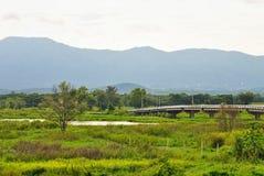 Long bridge Stock Photo