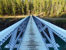 A long bridge at whitehorse Royalty Free Stock Photography