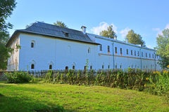 Long building of Brotherly case in Spaso-Evfimiyevsky monastery in Suzdal, Russia Stock Image