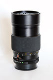 Long camera zoom lens Royalty Free Stock Photography