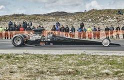 Long car racing Stock Photo