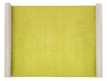 Long carpet on white stock images