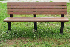 Long chair in the park. Royalty Free Stock Image