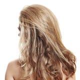 Long cheveu blond Image libre de droits