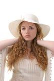 Long cheveu - jeune fille photos libres de droits