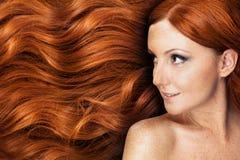 Long cheveu sain Photos libres de droits