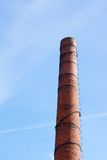 Long chimney Royalty Free Stock Photo