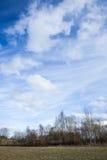 Long ciel de cirrus photos stock